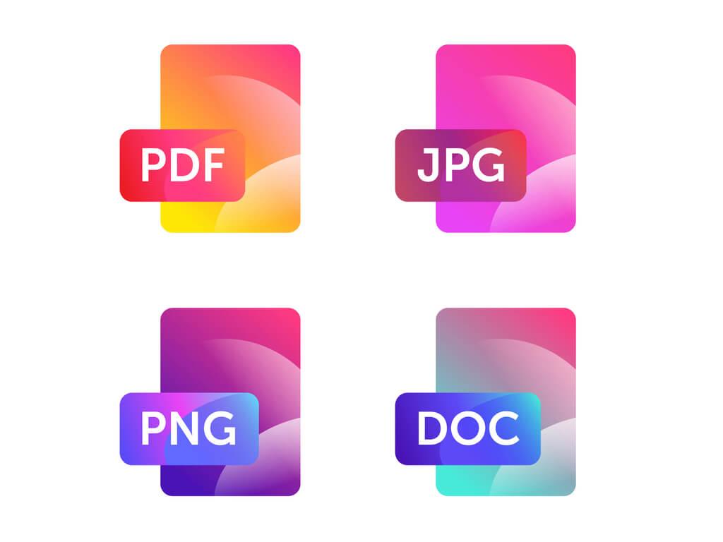 image format for website